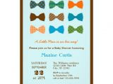 "Bow Tie themed Baby Shower Invitations Bow Tie Baby Shower Invitation 5"" X 7"" Invitation Card"