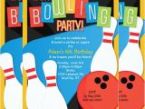 Bowling Party Invitation Template Word 21 Kids Invitation Templates Free Sample Example