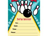Bowling Party Invitation Template Word Bowling Party Invitations