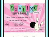 Bowling Party Invitation Template Word Free Printable Kids Bowling Party Invitations Download Get