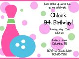 Bowling Party Invitations for Kids Free Printable Birthday Invitations Templates Free