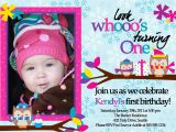 Boy Owl First Birthday Invitations Owl 1st Birthday Invitations Ideas Bagvania Free