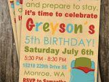 Boys Slumber Party Invitations Boy Sleepover Slumber Party Invitation Spa Sleeping by
