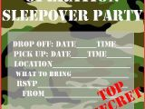 Boys Slumber Party Invitations Invitations for Sleepover Party