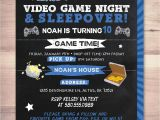 Boys Slumber Party Invitations Sleepover Party Invitation Boy Birthday Invitations