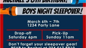 Boys Slumber Party Invitations top 10 Boys Sleepover Games