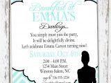 Breakfast at Tiffany S Baby Shower Invites Breakfast at Tiffany S Invitation