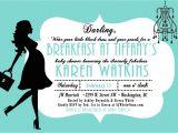 Breakfast at Tiffany S Baby Shower Invites Giggle Bean Breakfast at Tiffany S Baby Shower