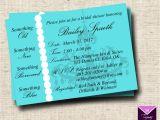 Breakfast at Tiffany S Bridal Shower Invitations Template Breakfast at Tiffanys Bridal Shower Invitation Card Custom