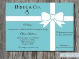 Breakfast at Tiffany S Bridal Shower Invitations Template Bridal Shower Invitations Bridal Shower Invitations