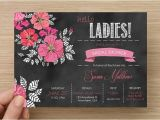 Bridal Shower and Bachelorette Party Invitations Bridal Shower Bachelorette Party Invitation Digital File
