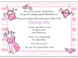 Bridal Shower and Bachelorette Party Invitations Bridal Shower Lingerie Bachelorette Party Invitations