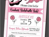 Bridal Shower and Bachelorette Party Invitations Party Invitations Invite with Envelope Bridal Shower