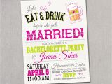 Bridal Shower and Bachelorette Party Invitations Wedding Shower Bachelorette Party Invitations by