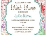 Bridal Shower Brunch Invitation Template Bridal Shower Brunch Invitation Template Bridal Brunch