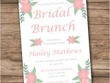 Bridal Shower Brunch Invitation Template Bridal Shower Invitation Template Download Instantly