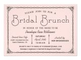 Bridal Shower Brunch Invitation Template Vintage Bridal Brunch Bridal Shower Invitations Zazzle