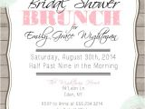 Bridal Shower Brunch Invites Bridal Shower Brunch Printable Invitation