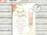 Bridal Shower Brunch Invites Brunch and Bubbly Bridal Shower Invitation Brunch Invite