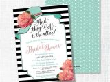 Bridal Shower Hat Invitations Big Hat Bridal Shower Invitation they 39 Re Off to the by