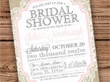 Bridal Shower Invitation Cards Designs Burlap and Lace Vintage Bridal Shower Baby by