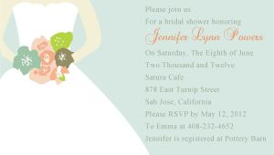 Bridal Shower Invitation Cards Samples Bridal Shower Invitation Templates Bridal Shower