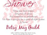 Bridal Shower Invitation Examples Invitation Regrets Sample Gallery Invitation Sample and