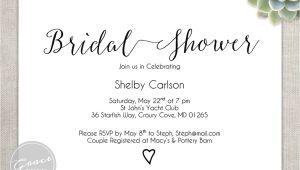 Bridal Shower Invitation Fonts Printable Bridal Shower Invitation Instant by Gracedesignsdiy