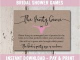 Bridal Shower Invitation Inserts Bridal Shower Invitation Inserts Printable Bridal Shower