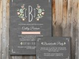 Bridal Shower Invitation Inserts Monogram Bridal Shower Invitations Printable Insert