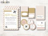Bridal Shower Invitation Kits Travel Bridal Shower Invitation Kit Travel Shower Party