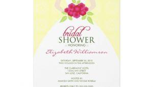 Bridal Shower Invitation Wording Examples Sample Bridal Shower Invitations Wording