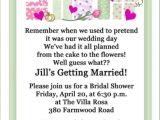 Bridal Shower Invitation Wording Poem 8 Best Images About Wedding Shower Invitations Wording On