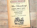 Bridal Shower Invitations Alice In Wonderland theme Alice In Wonderland Bridal Shower Invitation Vintage Mad