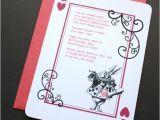 Bridal Shower Invitations Alice In Wonderland theme Alice In Wonderland Invitation Rabbit Red and Black