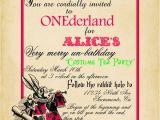 Bridal Shower Invitations Alice In Wonderland theme Playing Card Alice In Wonderland Invitation Bridal Shower