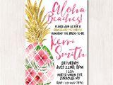 Bridal Shower Invitations Australia Aloha Beaches Bridal Shower Invitation Hawaiian Invitation