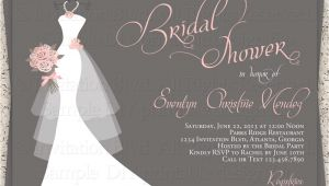 Bridal Shower Invitations Canada Wedding Invitation Templates and Wording