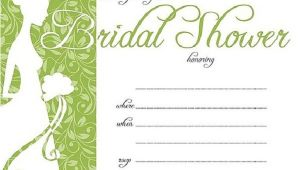 Bridal Shower Invitations Free Printable Bridal Shower Invitations Easyday