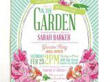 Bridal Shower Invitations Garden Party theme 25 Best Ideas About Garden Party Invitations On Pinterest