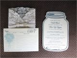Bridal Shower Invitations Mason Jar theme Alicia S Mason Jar Bridal Shower Caitlin