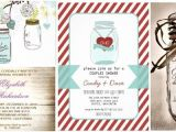 Bridal Shower Invitations Mason Jar theme Awesome Bridal Shower Invitations Mason Jar theme Ideas
