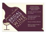 Bridal Shower Invitations Wine theme Vintage Wine themed Bridal Shower Invitations