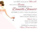 Bridal Shower Invitations Wine theme Wording Wine theme Bridal Shower Invitation & Thank You Card