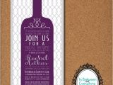 Bridal Shower Invitations Wine theme Wording Wine themed Bridal Shower Winery Bridal Shower Wine