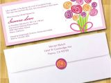 Bridal Shower Invitations with Envelopes Bridal Shower Invitations 4×9 with Envelope by Moncherdesigns
