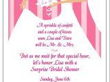 Bridal Shower Invite Text Wedding Invitation Templates and Wording