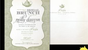 Bridal Shower Luncheon Invitation Wording Bridal Brunch Shower Invitations Bridal Shower Brunch