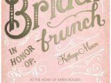 Bridal Shower Luncheon Invitation Wording Bridal Brunch Signature White Bridal Shower Invitations
