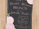 Bridal Shower Luncheon Invitation Wording Bridal Shower Brunch Invitations Vintage Bridal Shower